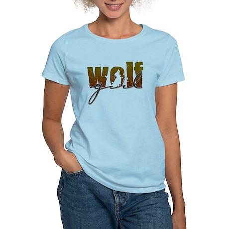 Wolf Girl Women's Light T-Shirt