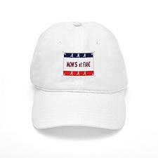 Mom's #1 Fan Baseball Cap