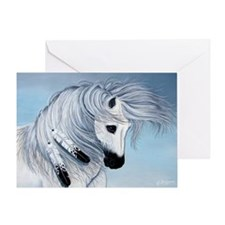 Thunder Horse Greeting Card