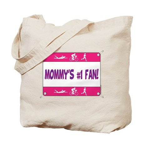 Mommy's #1 Fan Tote Bag
