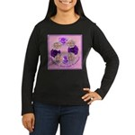 Circle of Roses, Happy Easter Women's Long Sleeve
