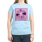 Circle of Roses, Happy Easter Women's Light T-Shir