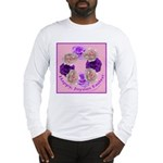 Circle of Roses, Happy Easter Long Sleeve T-Shirt