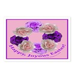 Circle of Roses, Happy Easter Postcards (Package o
