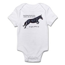 Mules are Better Infant Bodysuit