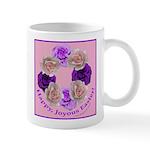 Circle of Roses, Happy Easter Mug