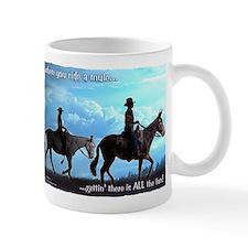 Trail Riding Mules Mug
