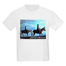 Trail Riding Mules T-Shirt