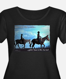 Trail Riding Mules T
