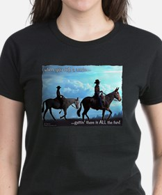 Trail Riding Mules Tee