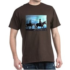 Trail Riding Mules T-Shirt
