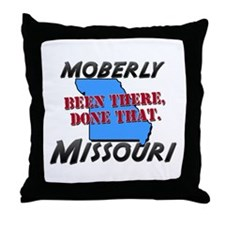 moberly missouri - been there, done that Throw Pil
