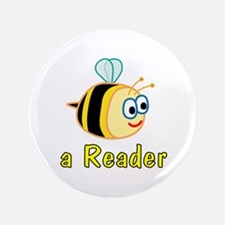 "Book Reading 3.5"" Button"