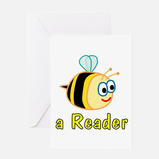 Book Reading Greeting Card