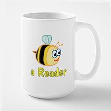 Book Reading Large Mug