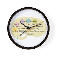 Nursing is an Art Wall Clock