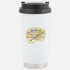 Nursing is an Art Stainless Steel Travel Mug