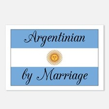 Argentinian by Marriage Postcards (Package of 8)