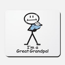 Great Grandpa Baby Boy Mousepad
