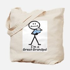Great Grandpa Baby Boy Tote Bag