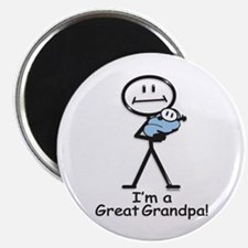 "Great Grandpa Baby Boy 2.25"" Magnet (100 pack)"