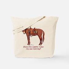 Ass Look Big Mule Tote Bag