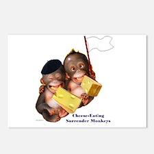 Cheese Eating Surrender Monkeys I Postcards (Packa