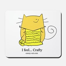I feel... Crafty! Mousepad