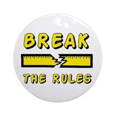 FUNNY TEES Ornament (Round)