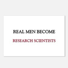 Real Men Become Research Scientists Postcards (Pac