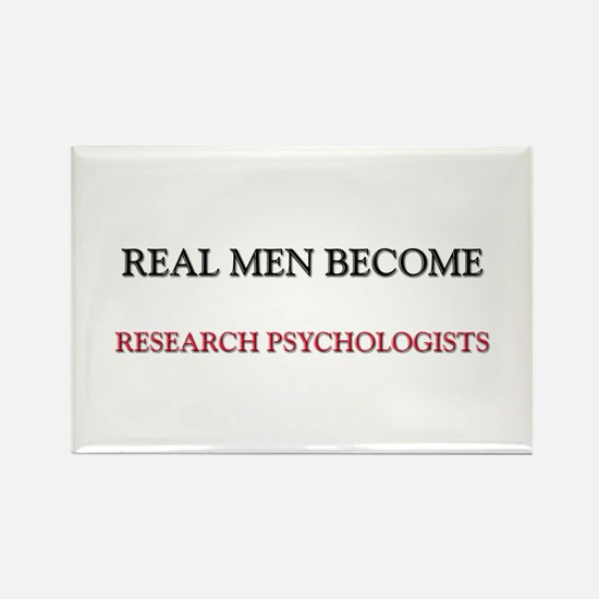 Real Men Become Research Psychologists Rectangle M