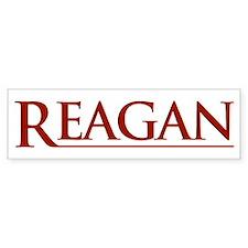 Reagan Bumper Bumper Bumper Sticker