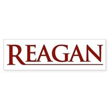 Reagan Bumper Bumper Sticker
