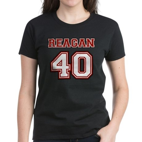 Reagan #40 Women's Dark T-Shirt