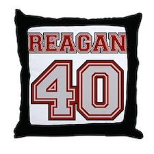 Reagan #40 Throw Pillow