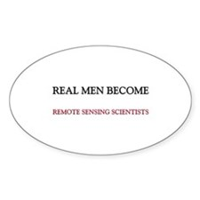 Real Men Become Remote Sensing Scientists Decal