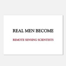 Real Men Become Remote Sensing Scientists Postcard