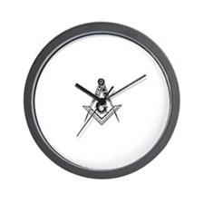 Funny Square and compasses Wall Clock