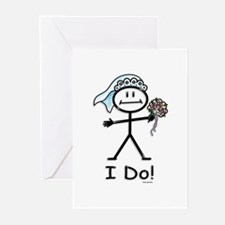 BusyBodies Wedding Bride Greeting Cards (Package o