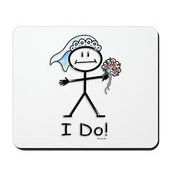 BusyBodies Wedding Bride Mousepad
