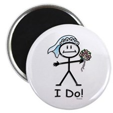 BusyBodies Wedding Bride Magnet