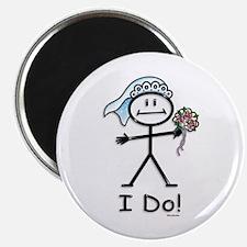 BusyBodies Wedding Bride Magnet