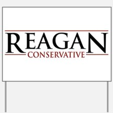 Reagan Conservative Yard Sign