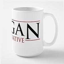 Reagan Conservative Large Mug
