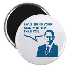 """Spend Your Money Better 2.25"""" Magnet (100 pack)"""