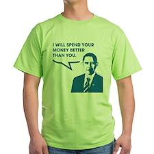 Spend Your Money Better T-Shirt
