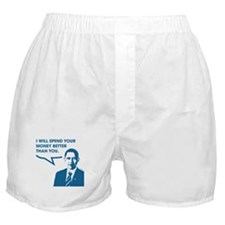 Spend Your Money Better Boxer Shorts