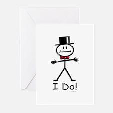 BusyBodies Wedding Groom Greeting Cards (Package o