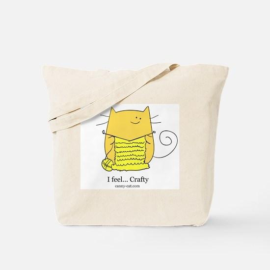 I feel... Crafty! Tote Bag