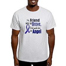 Angel 1 FRIEND (She) Colon Cancer T-Shirt